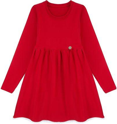 Hatley sukienka dziewczęca 134140 czerwony Ceny i opinie