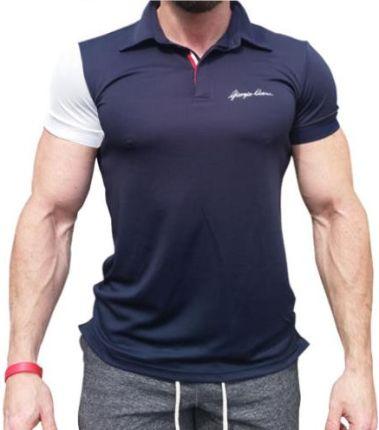 Giorgio Ulani Polo Dark blue MIX S - S - Ceny i opinie T-shirty i koszulki męskie XKOQ