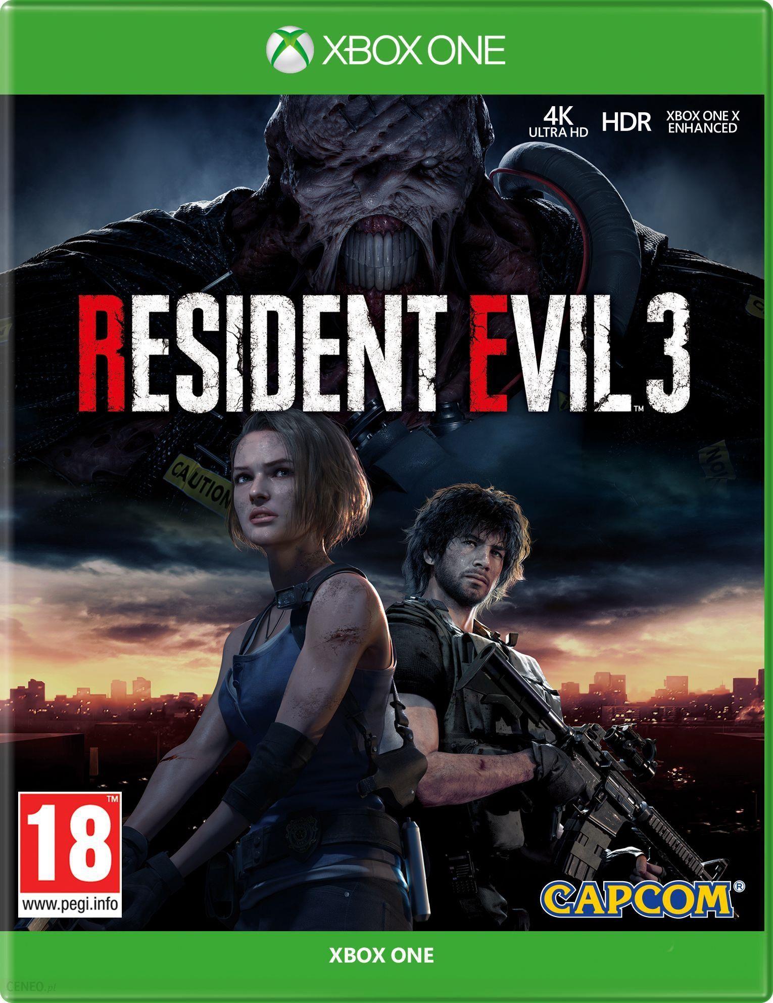 Resident Evil 3 Gra Xbox One Od 99 00 Zl Ceny I Opinie Ceneo Pl