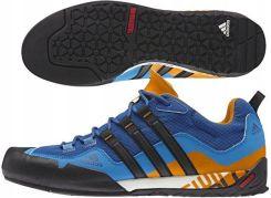adidas Terrex Solo Buty Mężczyźni zielonyniebieski 41 13 Buty podejściowe