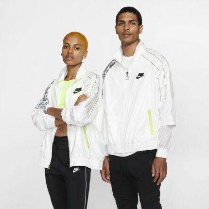 Nike Bluza dresowa z tkaniny Nike Sportswear Tech Pack Biel Ceny i opinie Ceneo.pl
