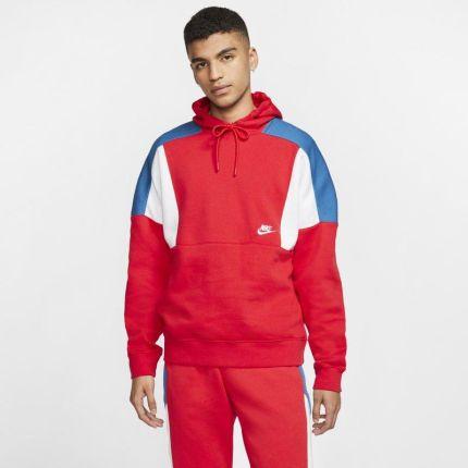 Nike Bluza z kapturem w kontrastujących kolorach Nike Sportswear Czerń Ceny i opinie Ceneo.pl