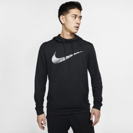 Męska bluza treningowa z kapturem i zamkiem na całej długości Nike Dri FIT Therma Czerń Ceny i opinie Ceneo.pl