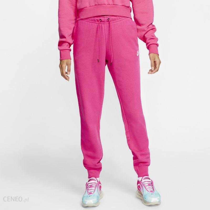 Nike Damskie Spodnie Sportswear Essential Różowy