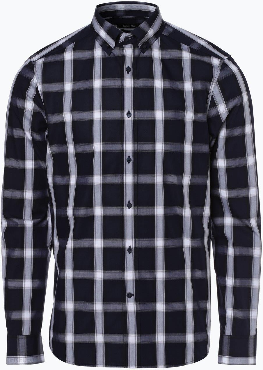 Calvin Klein Koszula męska, niebieski Ceny i opinie  MBPHV