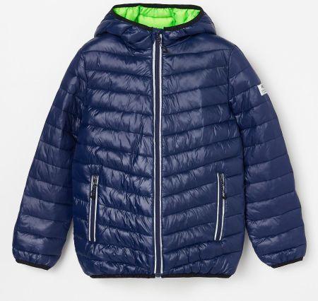 Reserved Ocieplana kurtka sportowa Niebieski Ceny i