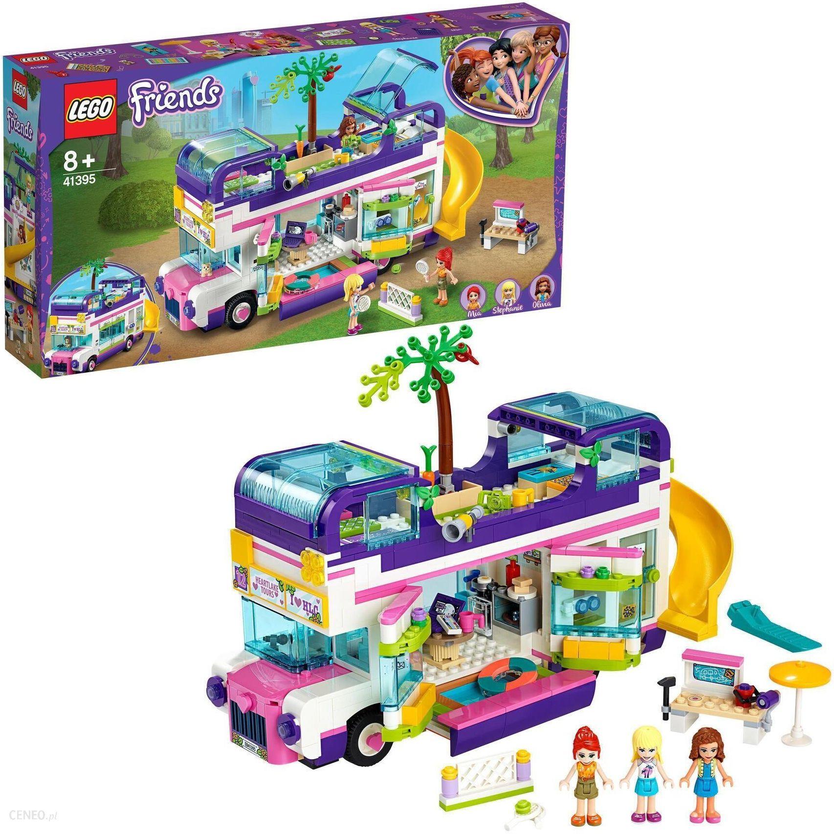 klocki lego friends dla dziewczynki autobus przyjazni
