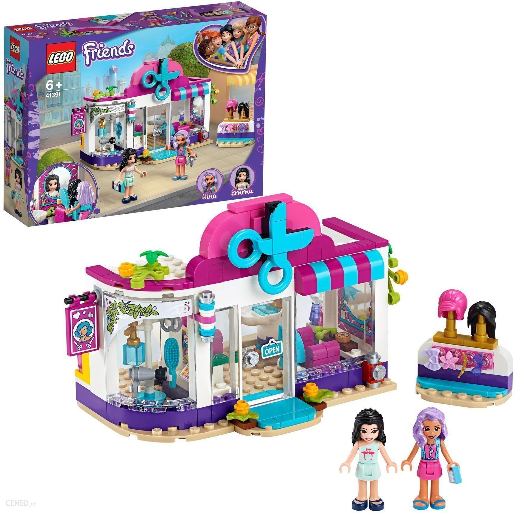 klocki lego friends dla dziewczynki salon fryzjerski