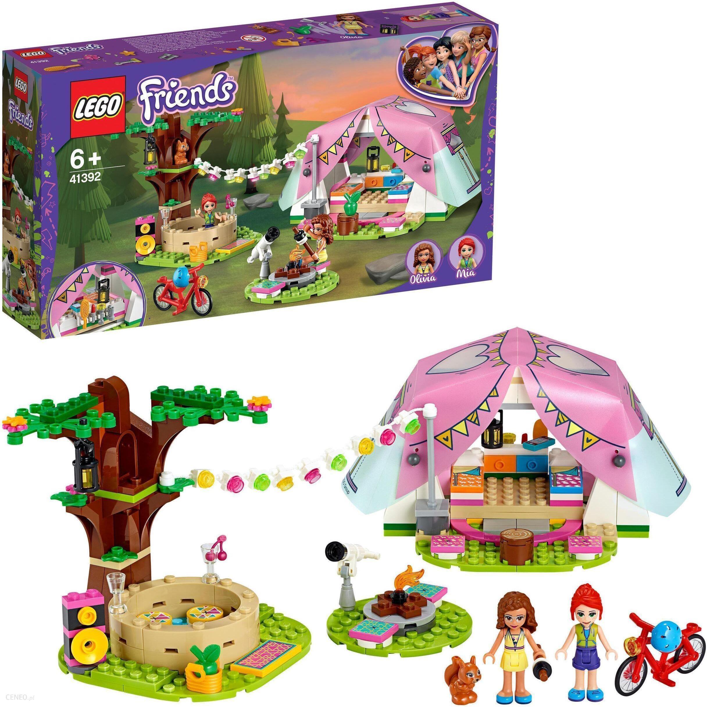 klocki lego friends dla dziewczynki luksusowy kemping