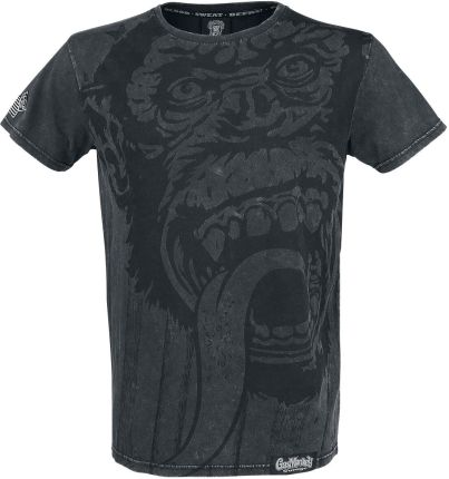 Gas Monkey Garage - Monkey - T-Shirt - szary