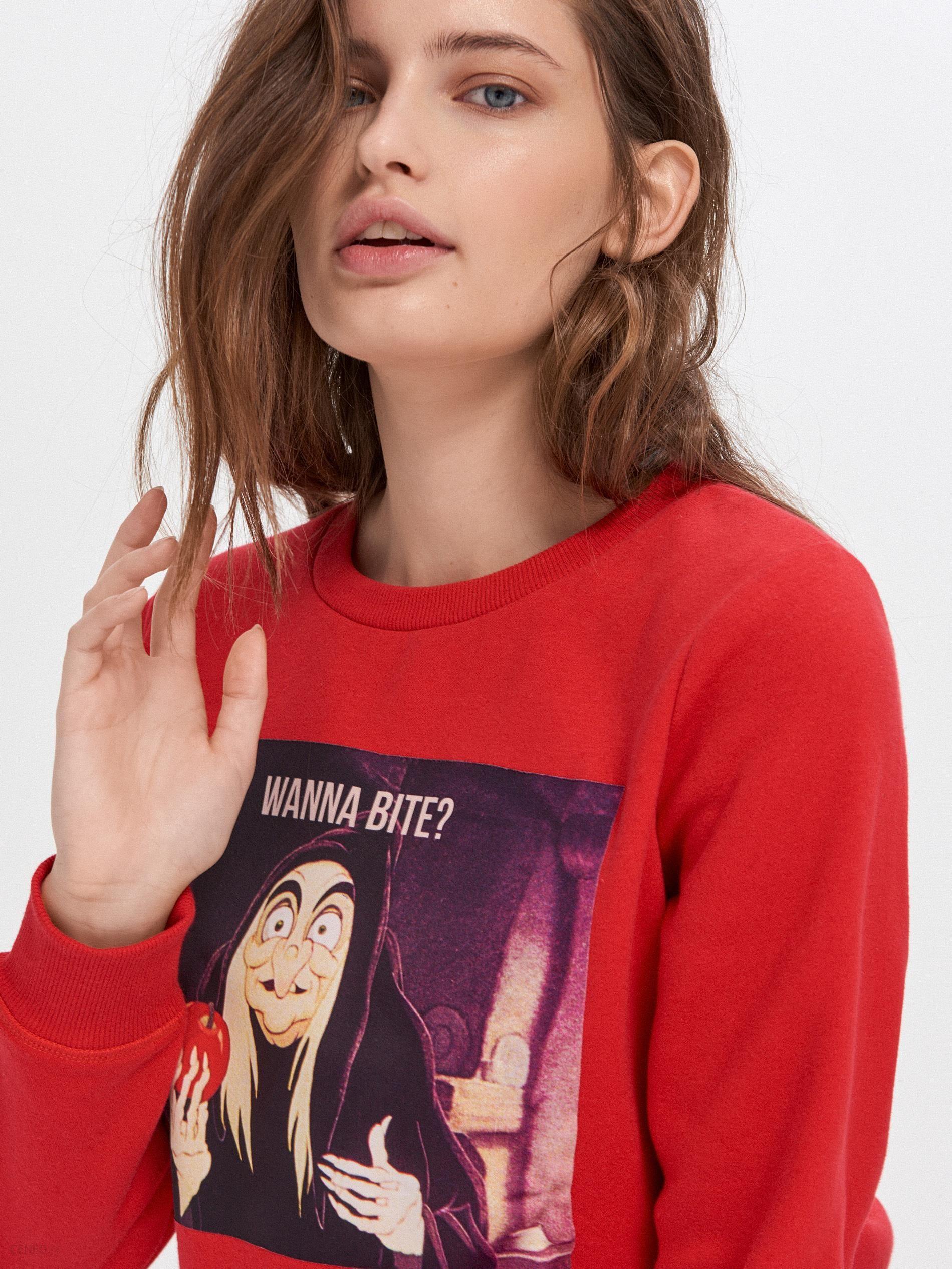 Bluza z nadrukiem Disney Czerwony