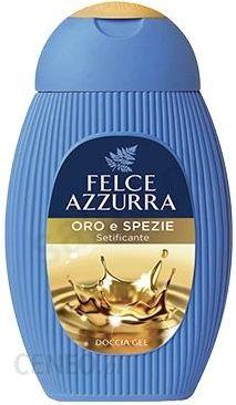 Felce Azzurra aukso ir prieskonių šilkinis dušo gelis 250 ml
