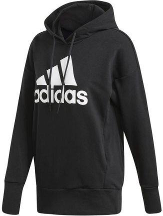 bluza adidas bialy znaczek czarny napis