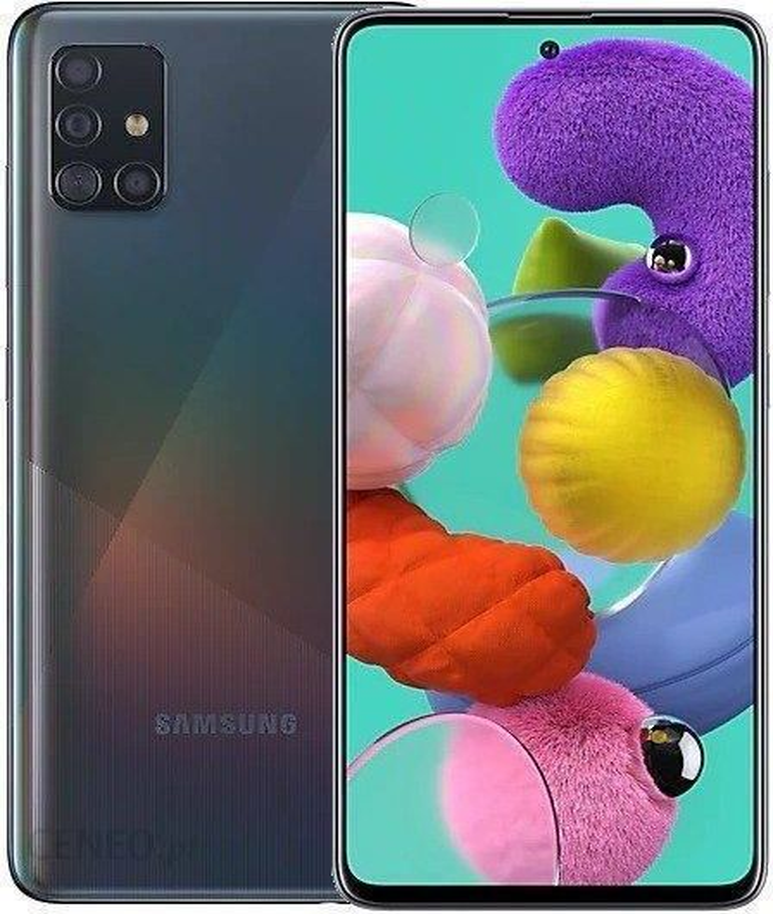 Samsung Galaxy A51 Sm A515 4 128gb Czarny Cena Opinie Na Ceneo Pl