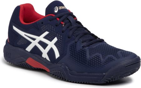 Buty ASICS - Gel-Resolution 8 Clay Gs 1044A019 Peacoat/Classic Red 400