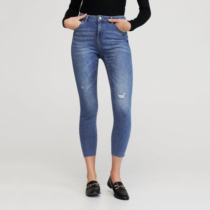 Jeans push up Jeansy damskie Ceneo.pl