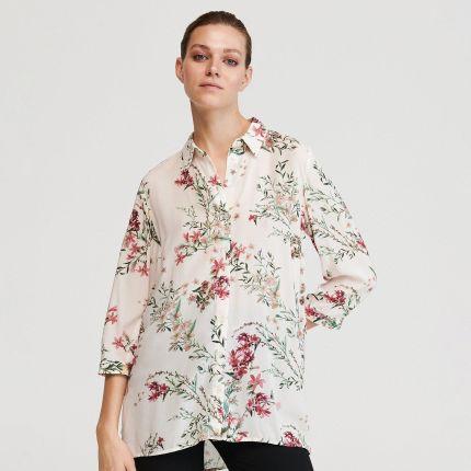 Koszule damskie Rozmiar 38 wzór: Kwiaty Ceneo.pl