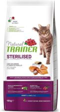 Trainer Natural Cat Sterilised Łosoś 10Kg