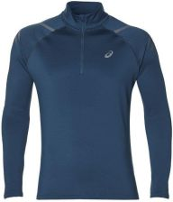 Asics ESS Winter 12 Zip męska bluza do biegania (pomarańczowa)