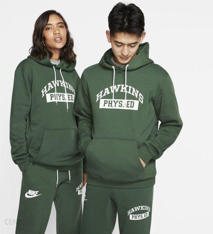 Nike Męska bluza z kapturem Nike x Stranger Things Zieleń