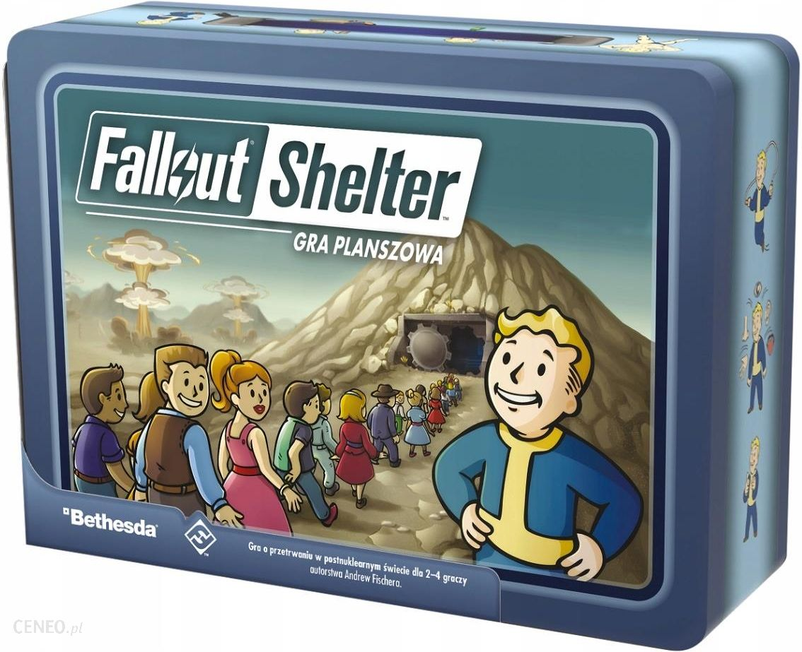 Gra planszowa Rebel Fallout Shelter Edycja Polska