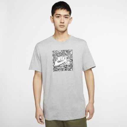 Koszulka Nike Dip Dye Futura 666541 076 Szary Ceny i