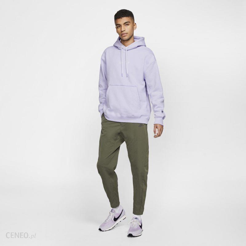Nike Męska dzianinowa bluza z kapturem Nike Sportswear JDI Heavyweight Fiolet Ceny i opinie Ceneo.pl