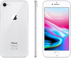 Produkt z Outletu: Apple iPhone 8 silver 64GB