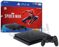 Produkt z Outletu: Sony PlayStation 4 Slim 1TB + Marvel's Spider-Man
