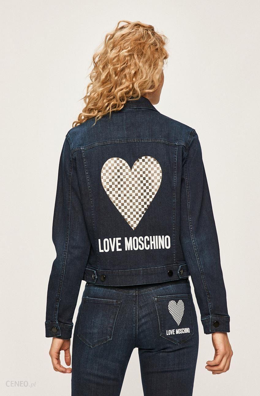 Love Moschino Kurtka jeansowa