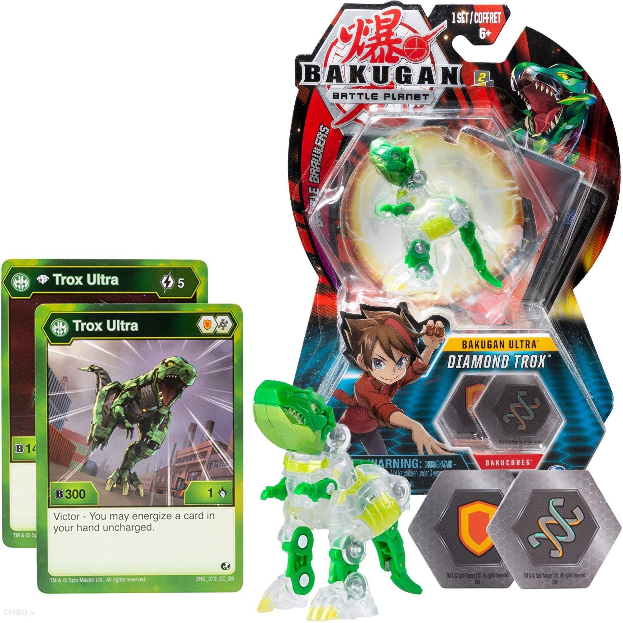 BAKUGAN ULTRA Battle Planet Diamond TROX New
