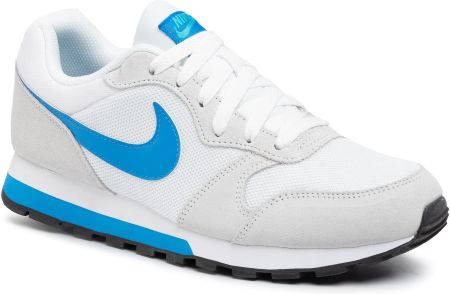 Buty NIKE - Md Runner 2 749794 144 White/Photo Blue/Gamma Blue