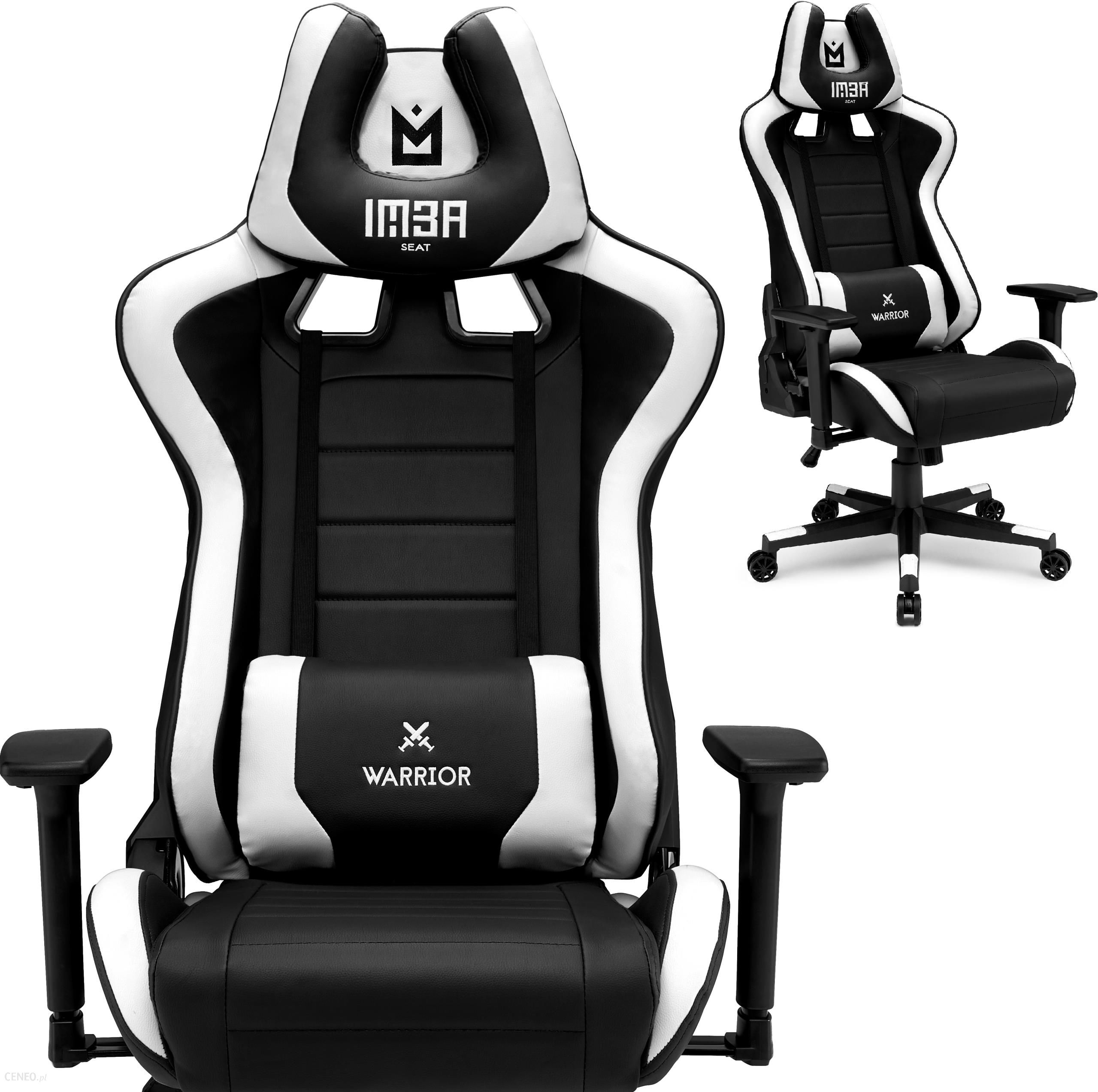 Imba Seat Fotel Gamingowy Warrior White