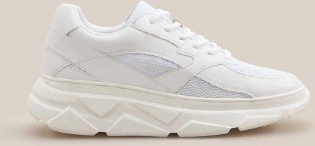 Reserved Sportowe buty za kostkę Biały