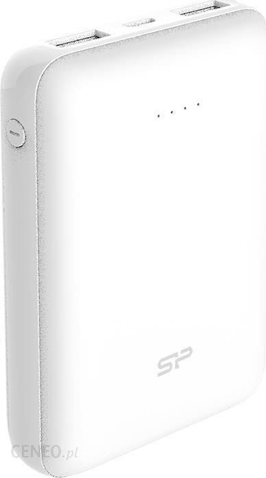 Silicon Power Cell C100 10000mAh mini Biały (SP10KMAPBK100CPW)