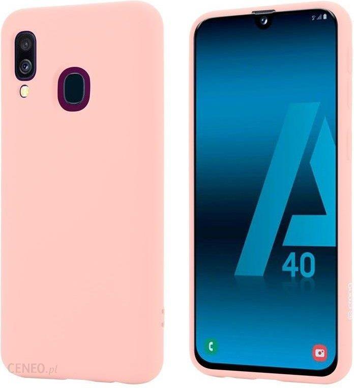 Crong Color Cover Rozowy Etui Samsung Galaxy A40 Etui Na Telefon Ceny I Opinie Ceneo Pl