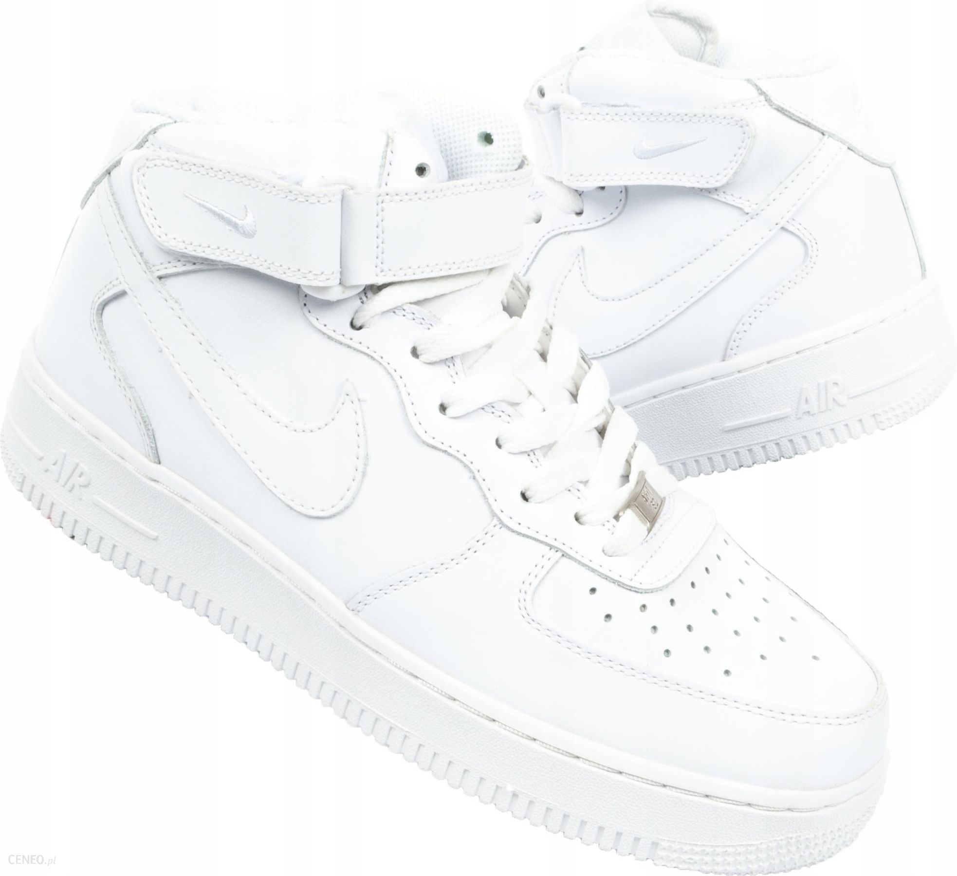 Buty NIKE AIR FORCE 1 MID 07 HIGH BIAŁE r 43