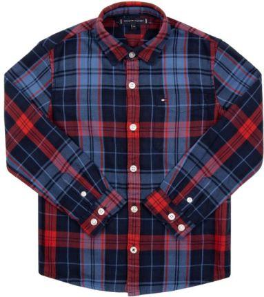 Endo Koszula flanelowa dla chłopca 3 8 (r.128) Ceny i  WK0ih