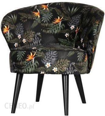 Kėdė BO su gėlėmis