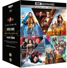 DC 7-Film Collection: Man of Steel / Batman v Superman: Dawn of Justice / Suicide Squad / Wonder Woman / Justice League / Aquaman / Shazam! [BOX] [7xB