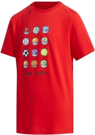 Koszulka adidas Konn 16 AJ1391 134 cm czerwony Ceny i