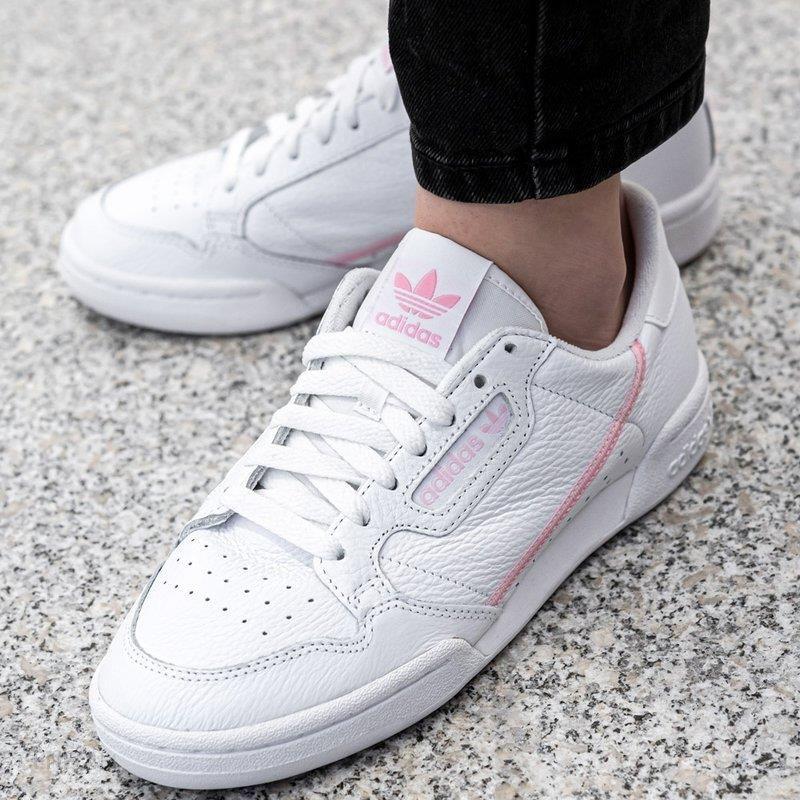 Buty sportowe damskie Adidas Continental 80 W (G27722) Ceny i opinie Ceneo.pl