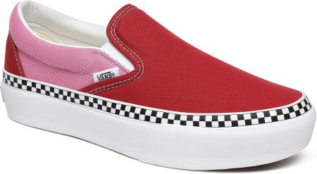 VANS CLASSIC SLIP ON (CHECKER FLAME) 8F7RX5 Ceny i opinie
