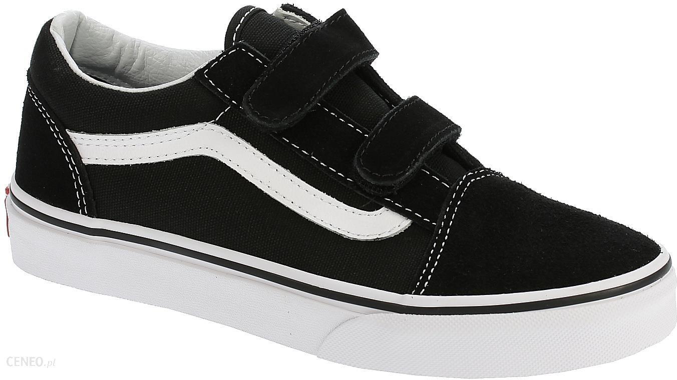 buty dziecięce Vans Old Skool V BlackTrue White 32