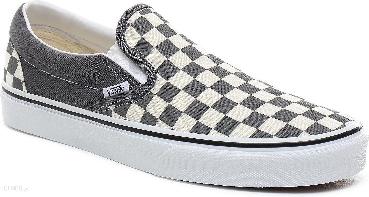 buty Vans Classic Slip On CheckerboardPewterTrue White 38