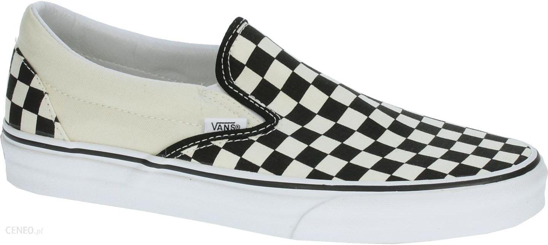 buty Vans Classic Slip On Black & White CheckerboardWhite 34.5
