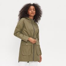 House - Parka z kapturem basic - Khaki