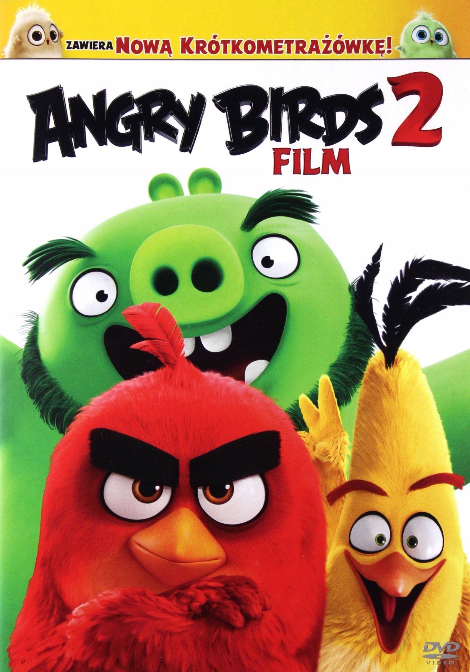 Film Dvd Angry Birds 2 Film Ceny I Opinie Ceneo Pl