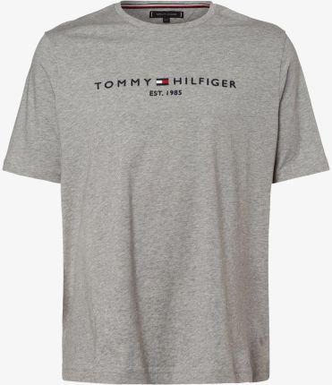 Tommy Hilfiger Koszulka męska Cn Ss Crew Logo UM0UM01172 004 Grey Heather (rozmiar XL) Ceny i opinie Ceneo.pl