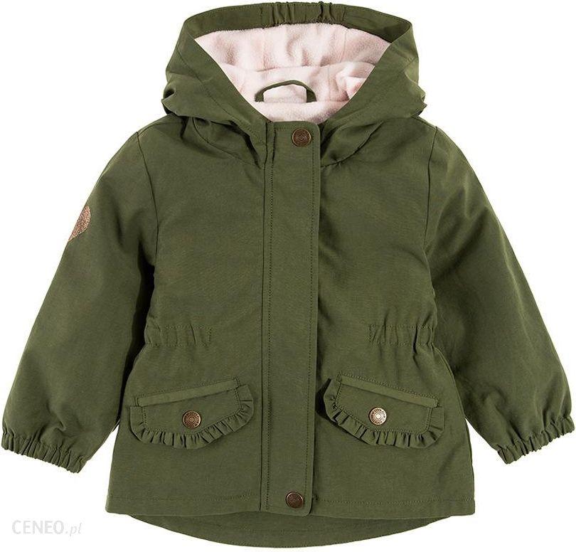 cool club kurtka zimowa chłopięca parka zieleń khaki